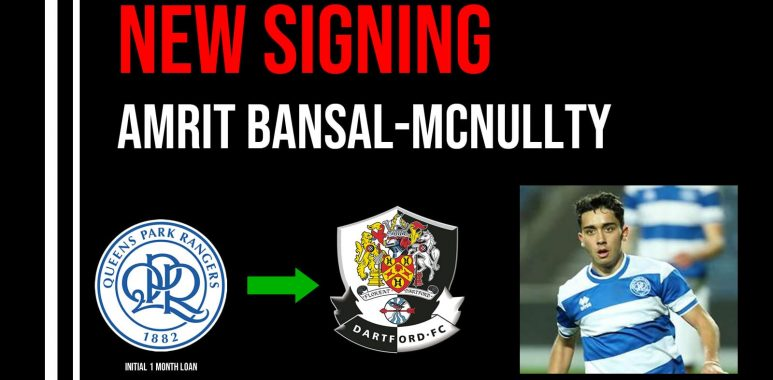 New Signing Amrit Bansal-McNullty