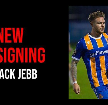 New Signing jack jebb