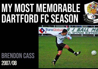My most memorable season - Brendon Cass
