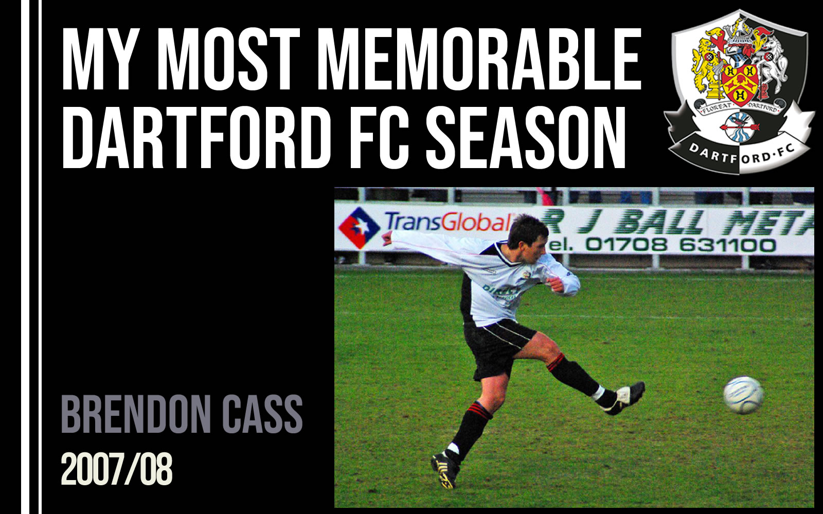 My most memorable season - Brendon Cass