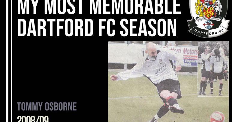 MY Most memorable season - Tommy Osborne