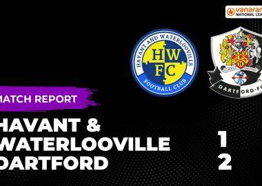 Havant v Dartford Match report