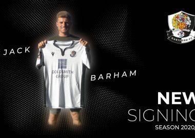 New Signing Jack Barham