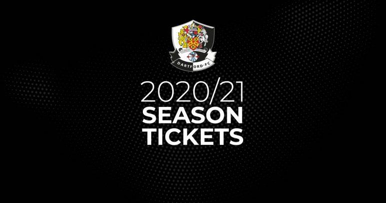 Dartford 20/21 Season Tickets