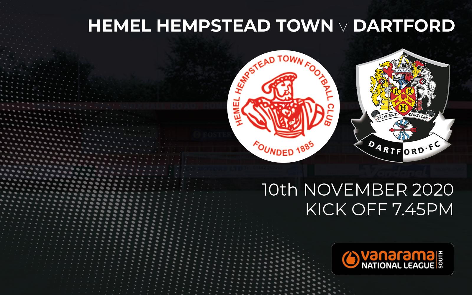 Match Preview Hemel Hempstead v Dartford